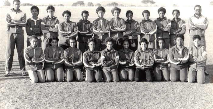 Web Womens team 1986