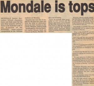 Mondale is tops