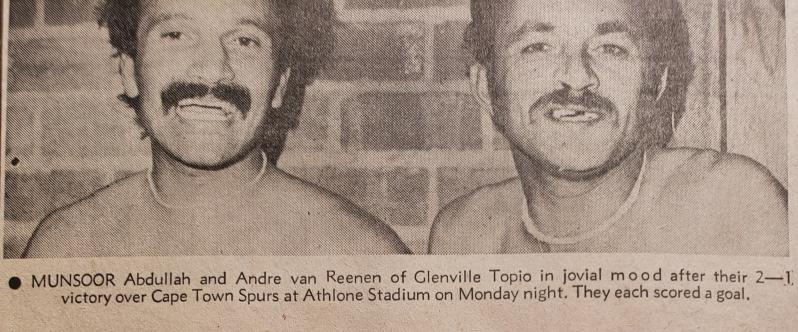 Van Reenen had a huge appetite for sport