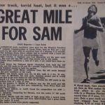 Sam De Wet Mile