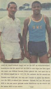 Wilfie Daniels and Jantjie Marthinus